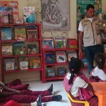 Luis M;iguel taller promocion de lectura